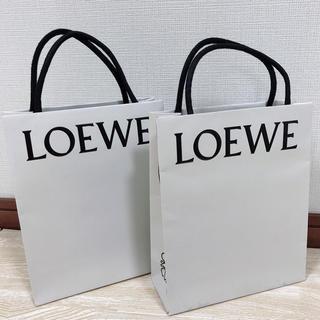 ロエベ(LOEWE)のLOEWE ショッパー 2枚セット(ショップ袋)