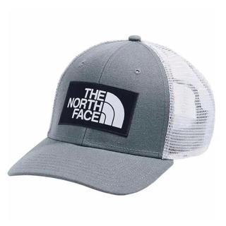 ザノースフェイス(THE NORTH FACE)の日本未発売 ザ ノースフェイス ワッペン トラッカー キャップ グレーxホワイト(キャップ)