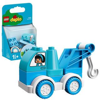 Lego - レゴ(LEGO) デュプロ はじめてのデュプロ みずいろのレッカー車 10918