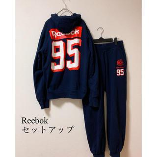 Reebok - 希少【Reebok】リーボック スウェット上下セット セットアップ 古着