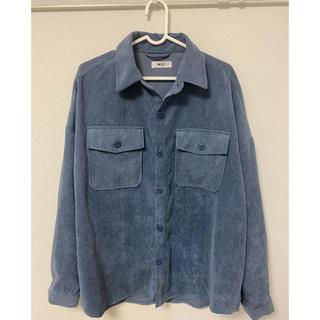 ウィゴー(WEGO)のコーデュロイCPOシャツ Sサイズ【セットアップ対応商品】(シャツ)