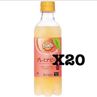 コカコーラ(コカ・コーラ)のコカ・コーラ   ファンタプレミアムピーチ 引換券20枚(フード/ドリンク券)