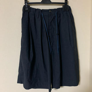 1LDK SELECT - sillage tropical wool circular shortpant