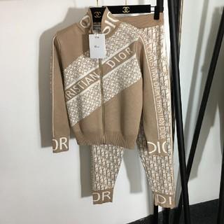 クリスチャンディオール(Christian Dior)のクリスチャンディオール ジャージセット ニットセーター(その他)