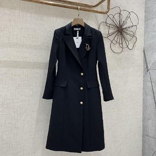 クリスチャンディオール(Christian Dior)のクリスチャンディオール コート ジャケット ワンピース(ロングコート)