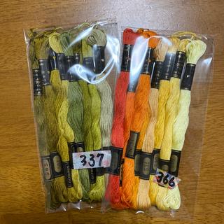オリンパス(OLYMPUS)のオリムパス刺繍糸337(生地/糸)