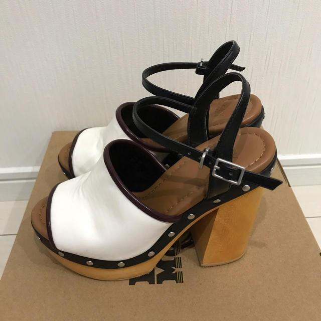 SLY(スライ)の【SLY】WOOD HEEL CHUNKY SANDAL レディースの靴/シューズ(サンダル)の商品写真