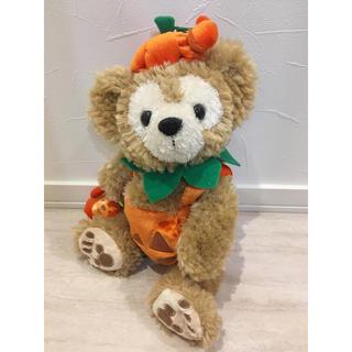 ダッフィー(ダッフィー)のダッフィー ぬいぐるみポーチ かぼちゃ ハロウィン ディズニーシー(キャラクターグッズ)