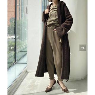 アパルトモンドゥーズィエムクラス(L'Appartement DEUXIEME CLASSE)の定価6.2万 L'Appartement Alpaca Long Gown(ガウンコート)