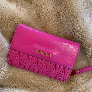 miumiu - miumiu 折りたたみ財布