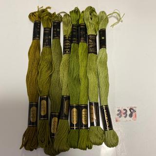 オリンパス(OLYMPUS)のオリムパス刺繍糸338(生地/糸)