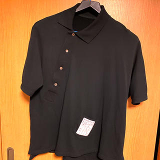 ジョンローレンスサリバン(JOHN LAWRENCE SULLIVAN)のSOSHIOTSUKI Kimono Breasted Polo サイズS(シャツ)