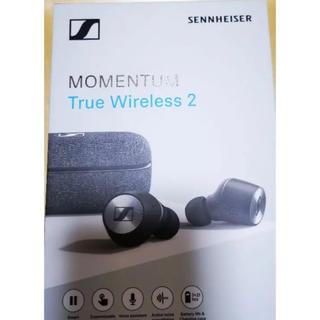ゼンハイザー(SENNHEISER)のMOMENTUM True Wireless2  black(ヘッドフォン/イヤフォン)