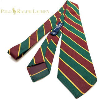 ポロラルフローレン(POLO RALPH LAUREN)の美品❗️アメトラ王道《Ralph Lauren》右下がりBleecker Tie(ネクタイ)