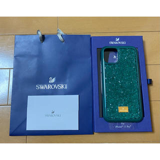 SWAROVSKI - スワロフスキー iPhone11pro ケース