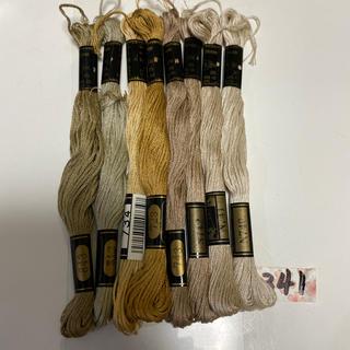 オリンパス(OLYMPUS)のオリムパス刺繍糸341(生地/糸)