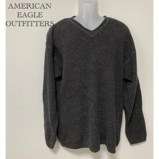 アメリカンイーグル(American Eagle)のAMERICAN EAGLE OUTFITTERS メンズ Vネックセーター(ニット/セーター)