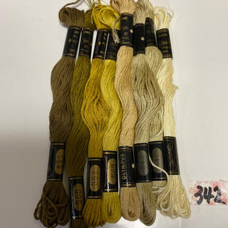 オリンパス(OLYMPUS)のオリムパス刺繍糸 342(生地/糸)