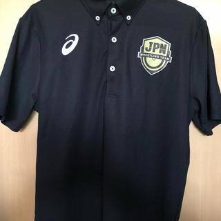 アシックス(asics)の日本代表 レスリング ポロシャツ(Tシャツ/カットソー(半袖/袖なし))