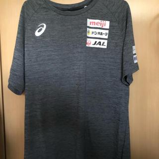 アシックス(asics)の日本代表 レスリング Tシャツ(Tシャツ/カットソー(半袖/袖なし))