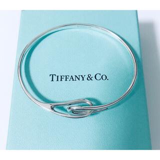 Tiffany & Co. - 美品 ティファニー TIFFANY&Co.  ダブルループ  バングル