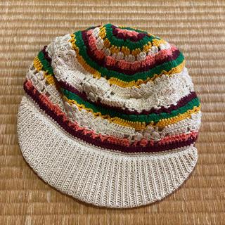 アナスイ(ANNA SUI)のアナスイ ニット帽 どんぐり帽子 ニットキャップ(ニット帽/ビーニー)