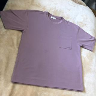 ウィゴー(WEGO)のWEGO パープル Tシャツ(Tシャツ/カットソー(半袖/袖なし))
