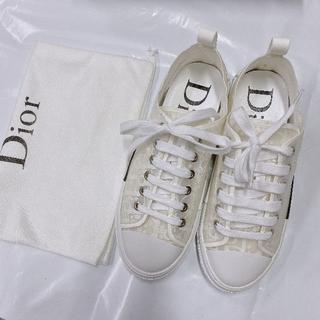 Dior - Diorキャンバススニーカー