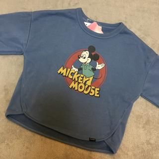 Disney - 新作  完売品 レア ❤️ ディズニー レトロ ミッキー 裏起毛 トレーナー