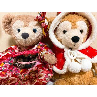ダッフィー(ダッフィー)のダッフィー&シェリーメイ ぬいぐるみSサイズ(ぬいぐるみ/人形)