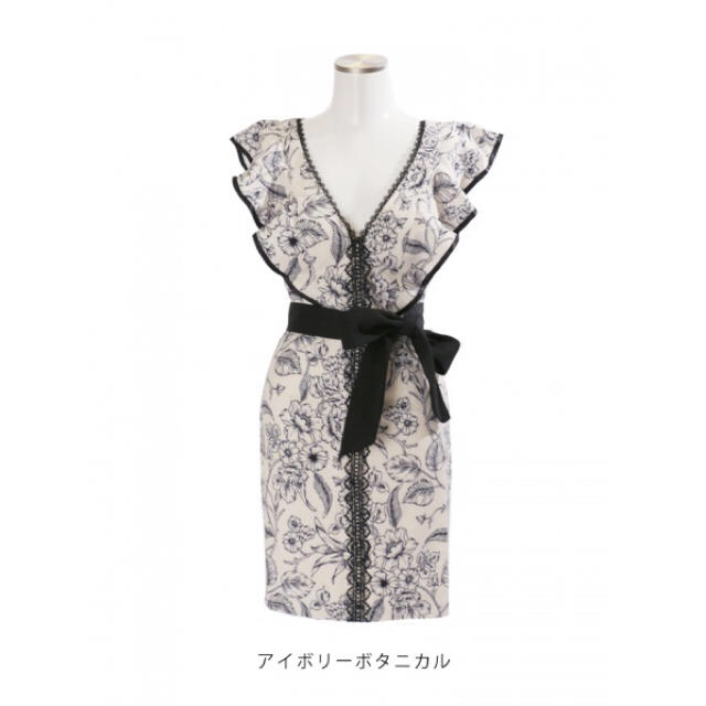 JEWELS(ジュエルズ)のジュエルズボタニカルドレス♡ レディースのフォーマル/ドレス(ナイトドレス)の商品写真