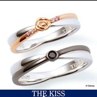 ザキッス(THE KISS)のThe KISS ディズニーコラボ ペアリング 美女と野獣(リング(指輪))