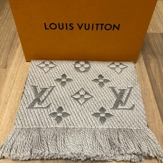 LOUIS VUITTON - 新品未使用 ルイヴィトン ロゴマニア マフラー