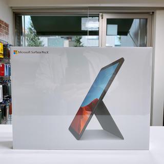 マイクロソフト(Microsoft)の新品未開封  Surface Pro X QFM-00011 SIMフリー (ノートPC)