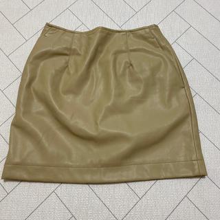 スライ(SLY)のSLY♡フェイクレザースカート(ミニスカート)