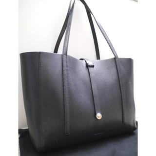 Tiffany & Co. - ◆TIFFANY&Co.ティファニー ショッピングトート L レザー バッグ 黒