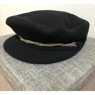 エイチアンドエム(H&M)の新品 H&M キャスケット帽 ウール素材(キャスケット)