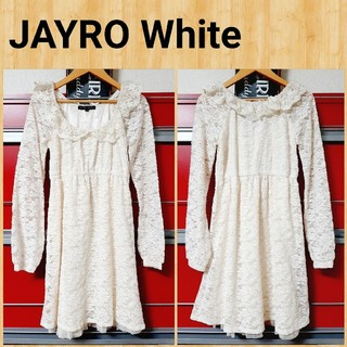 JAYRO White - JAYRO White ジャイロホワイト ワンピース M ジュン
