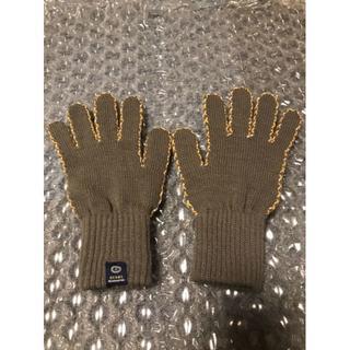 ビームス(BEAMS)の新品未使用 BEAMS ビームス 手袋 グレー × イエロー(手袋)