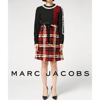 マークバイマークジェイコブス(MARC BY MARC JACOBS)の【MARC JACOBS】美品 レーシングドレス マークジェイコブス ワンピース(ひざ丈ワンピース)