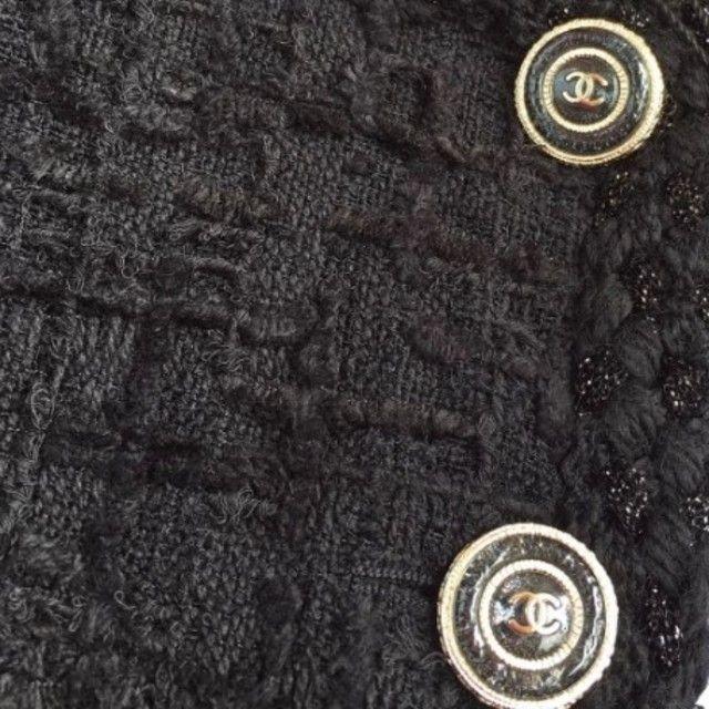 CHANEL(シャネル)のCHANEL エレガント 上質 ツイード ジャケット レディースのジャケット/アウター(ブルゾン)の商品写真