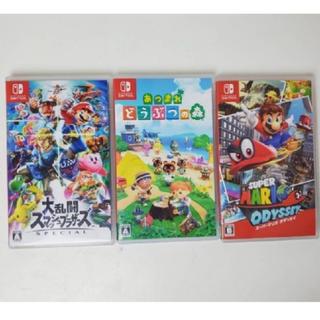 ニンテンドースイッチ(Nintendo Switch)のニンテンドースイッチ ソフト 3本セット Switch まとめ売り(家庭用ゲームソフト)