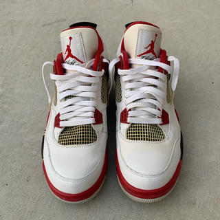 NIKE - 2012 JORDAN4  FIRE RED 28cm HELL VNTG