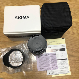SIGMA - SIGMA シグマ 35mm f1.4 DG HSM Art
