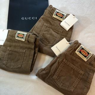 グッチ(Gucci)のグッチGUCCIコーデュロイパンツスラックス茶ブラウン 6歳 120㎝(パンツ/スパッツ)