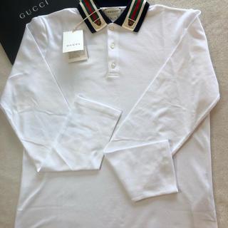 グッチ(Gucci)のグッチ GUCCI 長袖ポロシャツ サイズ10  10歳 140㎝(Tシャツ/カットソー)
