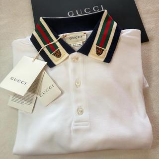 グッチ(Gucci)のグッチ GUCCI 長袖ポロシャツ サイズ12 12歳 150㎝(Tシャツ/カットソー)