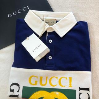 グッチ(Gucci)のGUCCI グッチ プリントポロシャツ長袖 サイズ6  6歳 120㎝(Tシャツ/カットソー)