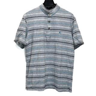 バーバリー(BURBERRY)のバーバリーロンドン 半袖ポロシャツ L(ポロシャツ)