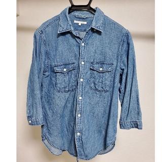ウィゴー(WEGO)のデニムシャツ 七分袖(Tシャツ/カットソー(七分/長袖))